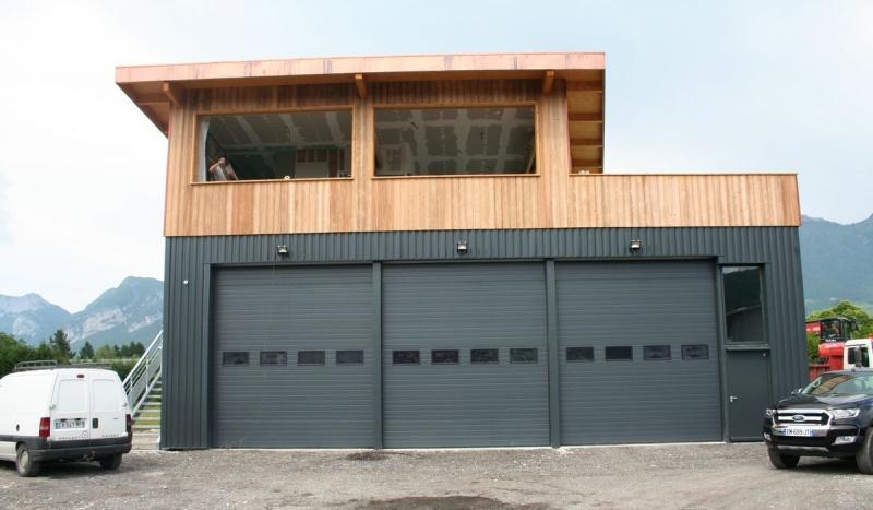 Bâtiment artisanal mixte bois métal