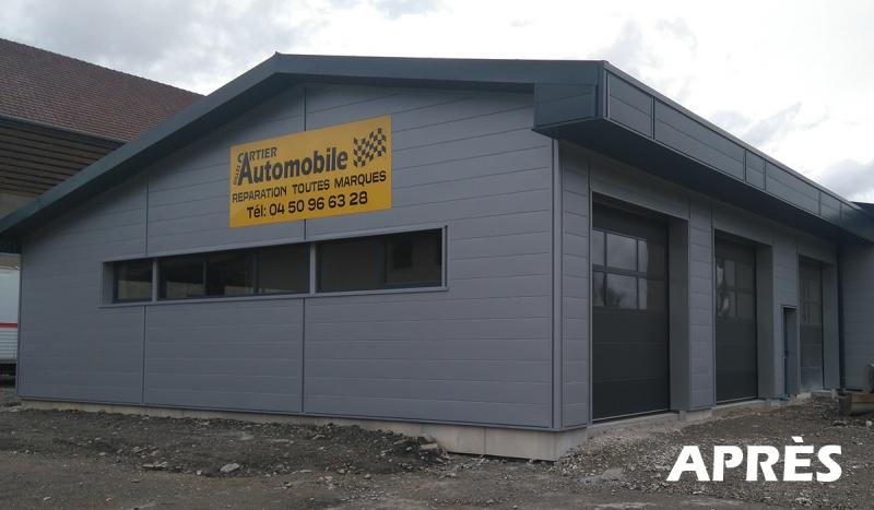 Rénovation d'un garage auto (après)